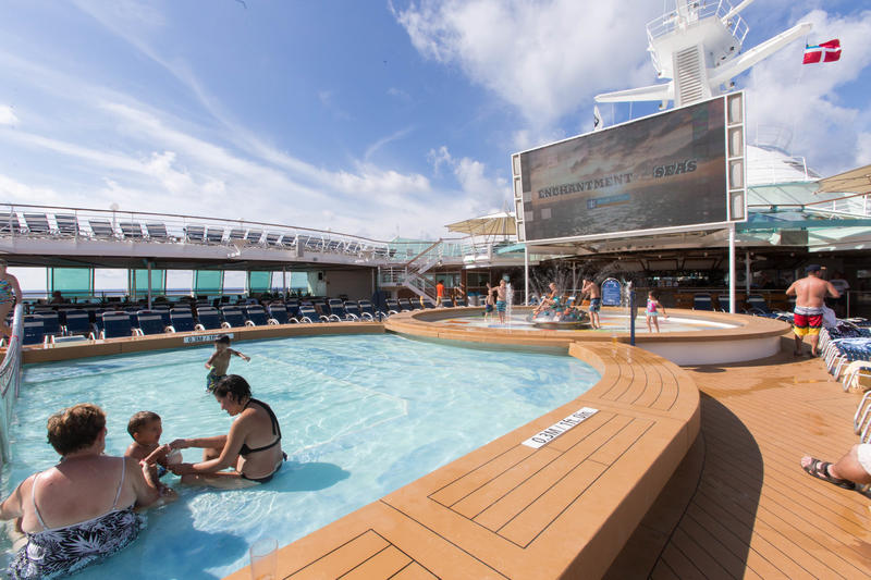The Main Pool on Enchantment of the Seas