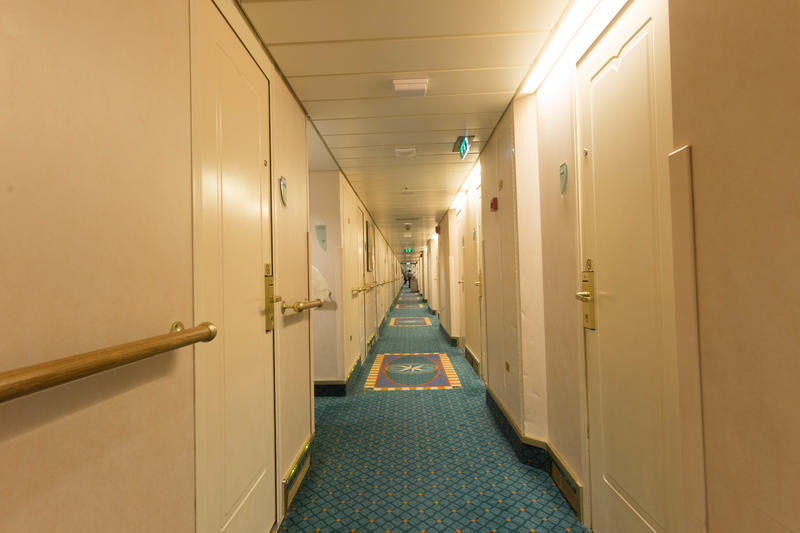 Hallways on Enchantment of the Seas