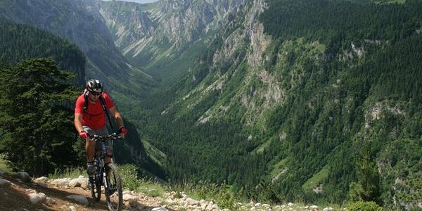 Moutain biking in Kotor, Montenegro (Photo: Viator)