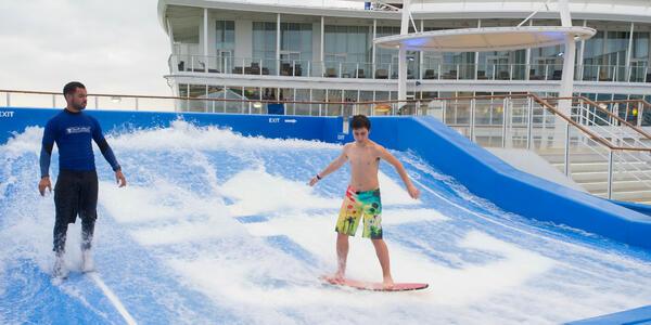 FlowRider on Allure of the Seas (Photo: Cruise Critic)