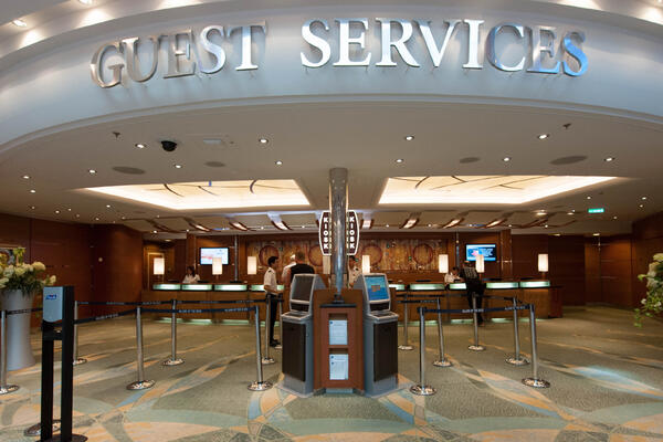 Guest Services on Allure of the Seas (Photo: Cruise Critic)
