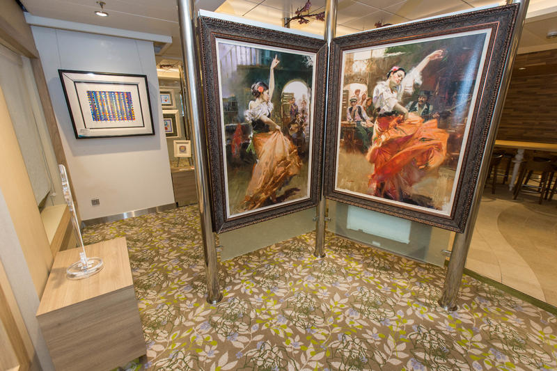 Art Gallery on Anthem of the Seas
