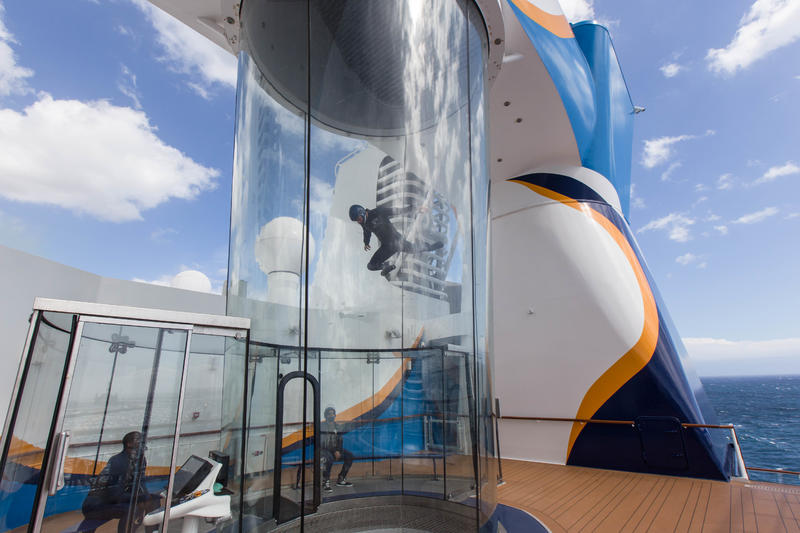 RipCord by iFly on Anthem of the Seas (Photo: Cruise Critic)