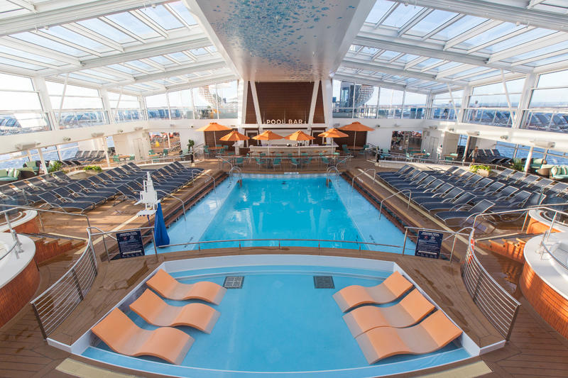 The Indoor Pool on Anthem of the Seas