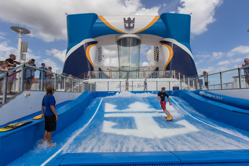 FlowRider on Anthem of the Seas