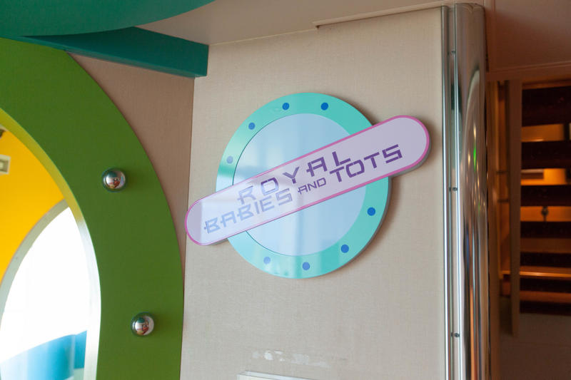 Royal Babies & Tots Nursery on Independence of the Seas