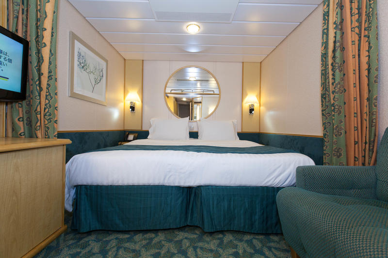 The Interior Cabin on Independence of the Seas