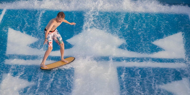 FlowRider on Independence of the Seas (Photo: Cruise Critic)