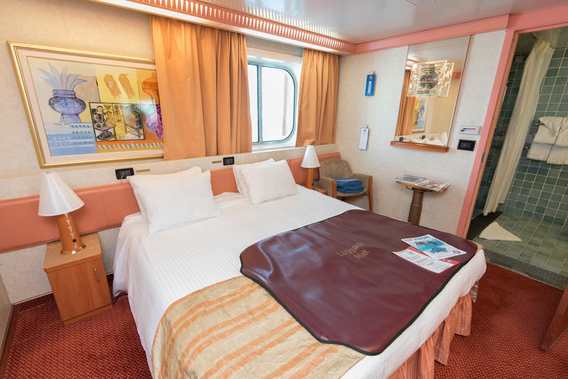 The Oceanview Cabin on Carnival Liberty