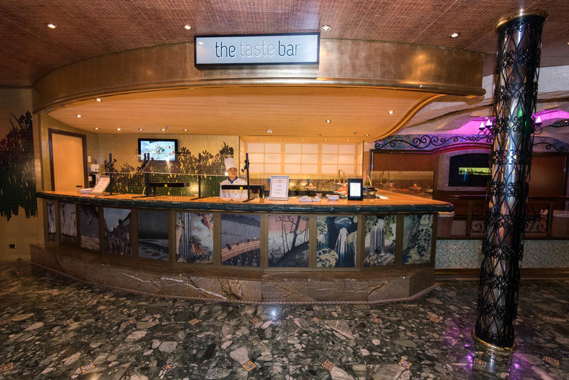 The Taste Bar on Carnival Liberty