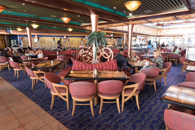 Emile's Lido Restaurant on Carnival Liberty