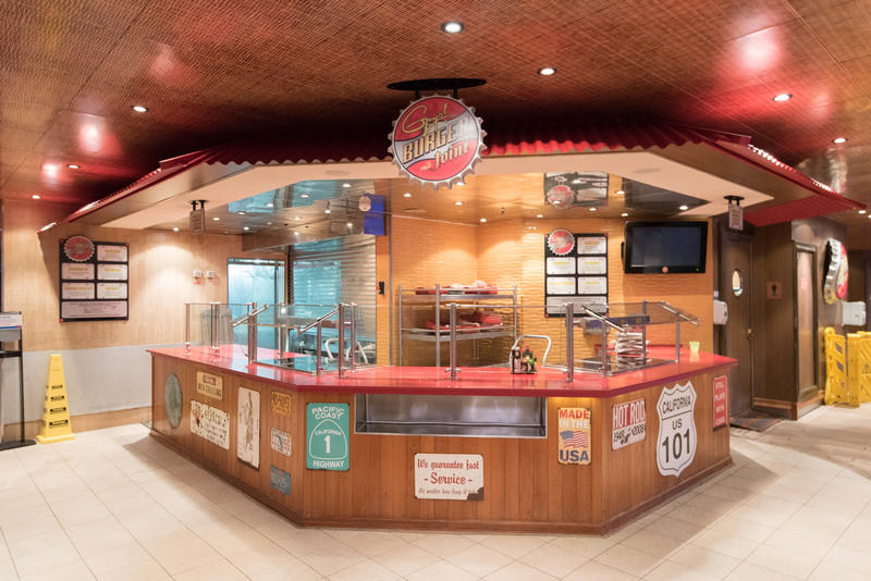 Guy's Burger Joint on Carnival Liberty
