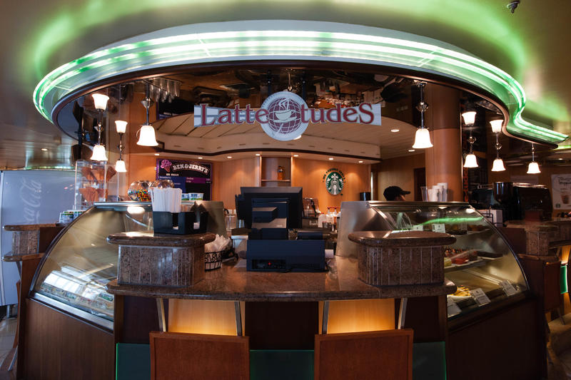 Cafe Latte-tudes on Grandeur of the Seas