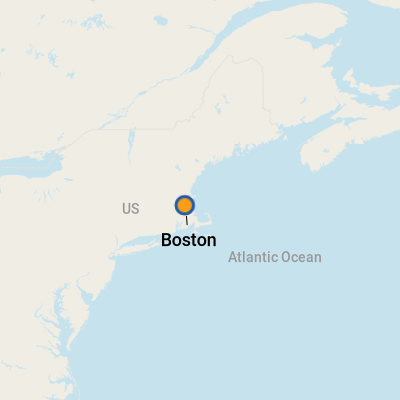 Boston MA Cruise Port Terminal Information For Port Of Boston - Boston ma on us map