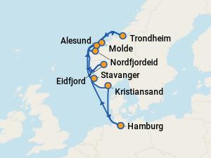 aidaperla route