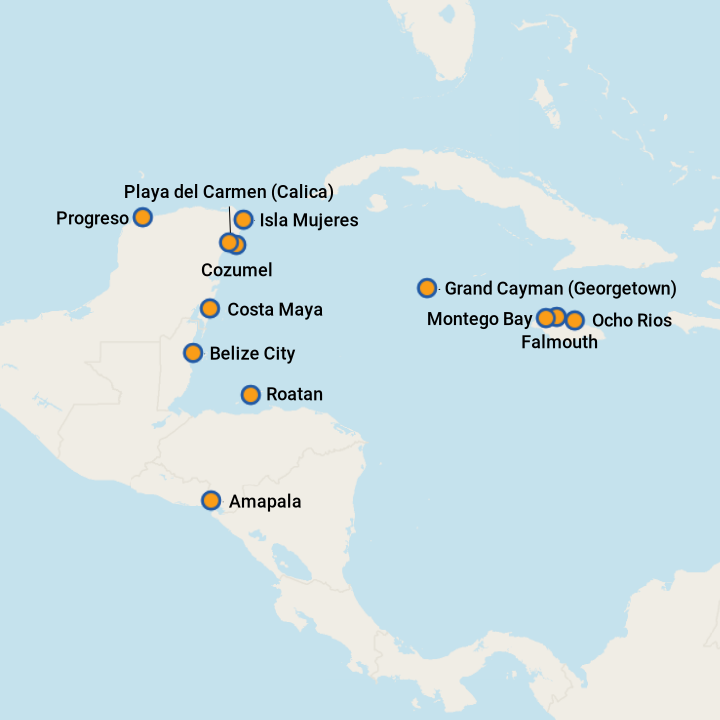 5 Best Western Caribbean Cruises 2019 With Prices