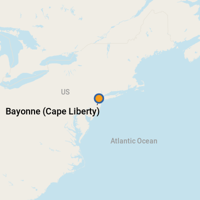 Bayonne Cape Liberty NJ Cruise Port Terminal Information for