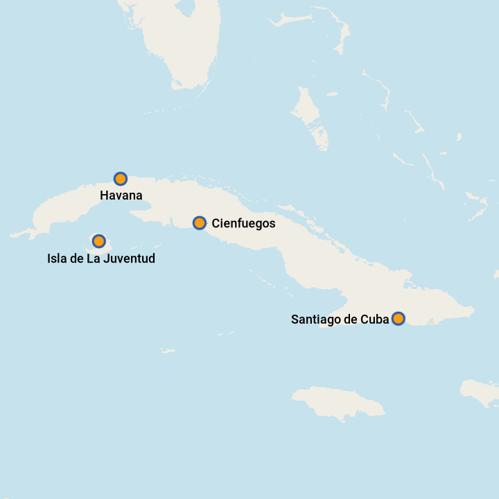 Cuba To Florida Map.5 Best Cuba Cruises 2019 With Prices Cruises To Cuba On Cruise Critic
