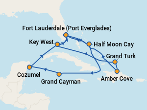 Holland America Nieuw Amsterdam Itineraries 2018 Schedule With Prices On Cruise Critic