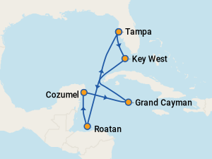The 15 Best Cruises From Tampa Fl With Prices 2018 Itineraries On Cruise Critic