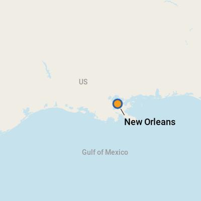 New Orleans LA Cruise Port Terminal Information For Port Of New - Cruise port new orleans