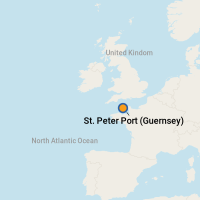 Guernsey England Map.Guernsey Cruise Port Terminal Information For Port Of Guernsey