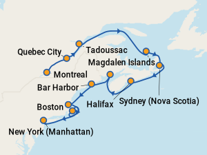 Find Cruises To Canada Amp New England With Prices