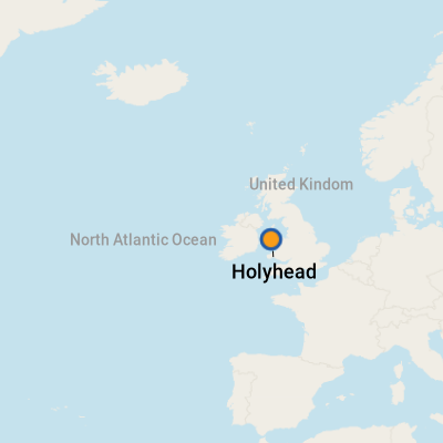 Map Of England Holyhead.Holyhead Cruise Port Terminal 2019 Information For Port Of