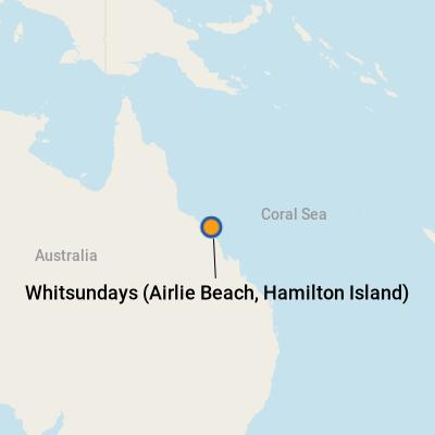 Whitsundays (Airlie Beach, Hamilton Island) Cruise Port