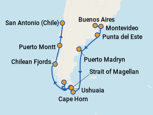 Best Celebrity Eclipse Cruises To South America With