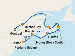 Best Holland America Rotterdam Cruises To Canada Amp New England With Prices 2018 Amp 2019 On