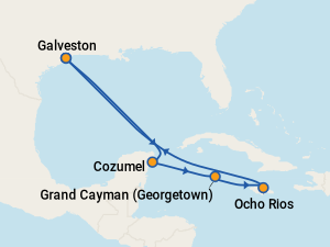 Carnival Vista Itineraries 2020 Amp 2021 Schedule With