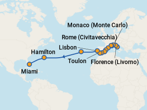 Celebrity eclipse baltic cruise itinerary