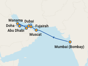 THE BEST Cruises from Mumbai to Muscat (with Prices) on