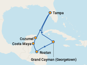 Carnival Legend Itineraries 2018 Amp 2019 Schedule With Prices On Cruise Critic