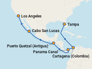 Find Cruises To The Panama Canal Amp Central America With