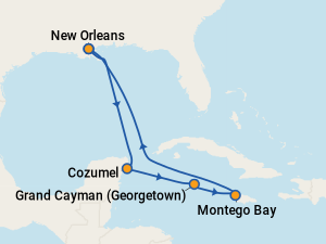 Carnival Glory Itineraries: 2019 & 2020 Schedule (with ...