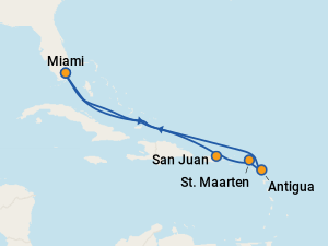 MSC Divina Cruises to the Caribbean (2019 & 2020) on Cruise
