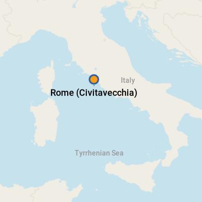 Rome civitavecchia cruise port terminal information for - Cruise port rome civitavecchia ...