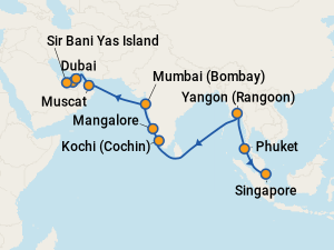 Best Indian Ocean Cruise Deals 2019 Cheap Amp Discount Cruises To The Indian Ocean