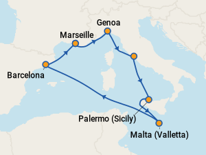 MSC Grandiosa Itineraries: 2019 & 2020 Schedule (with ...