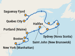 Best Holland America Cruises To Canada Amp New England With Prices 2019 Amp 2020 On Cruise Critic