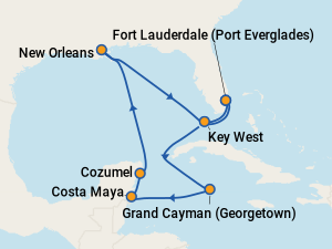 Celebrity Cruises from New Orleans