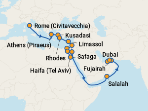 Norwegian Jade Itineraries 2019 Amp 2020 Schedule With