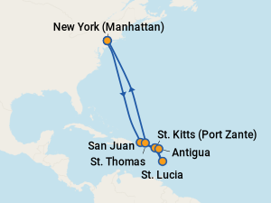 Cruises From New York 2020.The 7 Best February 2020 Cruises From New York With Prices