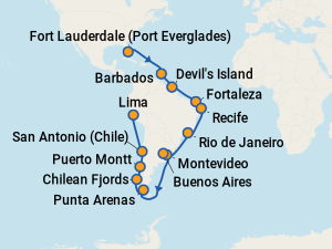 Cruise March 2020.The 25 Best March 2020 Cruises To South America With Prices