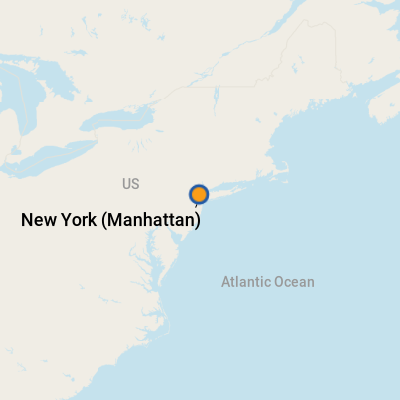 New York Manhattan NY Cruise Port Terminal Information For - Us cruise ports map
