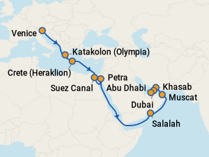 MSC Lirica Itineraries: 2019 & 2020 Schedule (with Prices